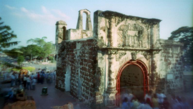 Festung - Lochkamera / Pinhole Camera