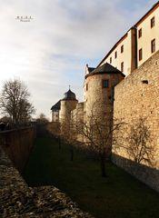 """"""" Festung Marienberg und Stadtblick aus der Burgperspektive Würzburg """""""