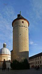 """"""" Festung Marienberg und Stadtblicke aus der Burgperspektive Würzburg """""""