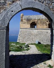 Festung Nafplio Griechenland