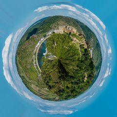 Festung Rheinfels (1) - little planet