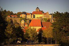 Festung Rosenberg von ihrer schönsten Seite