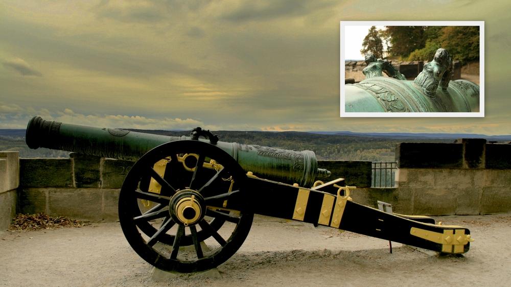 Festungs Kanone