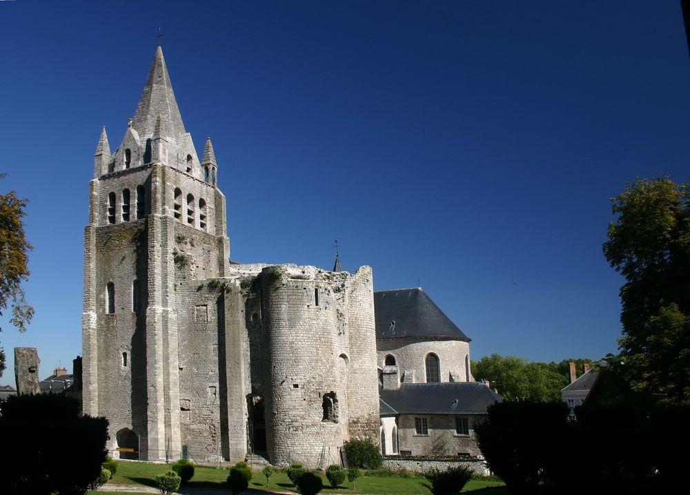 Festungskirche von BEAUGENCY in der Nähe von Orleans
