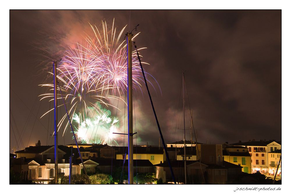 feu d' artifice...