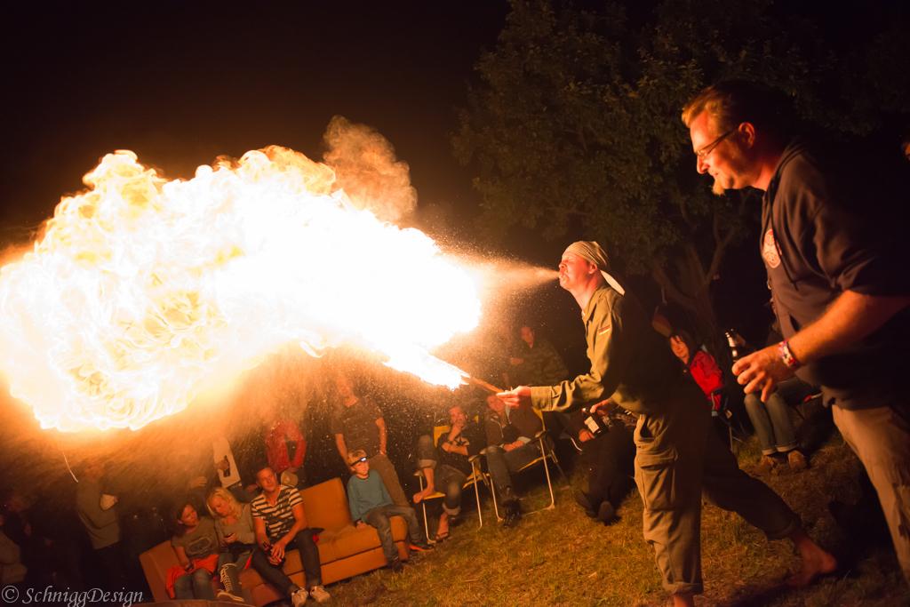 Feuer (Diesel) Spucker