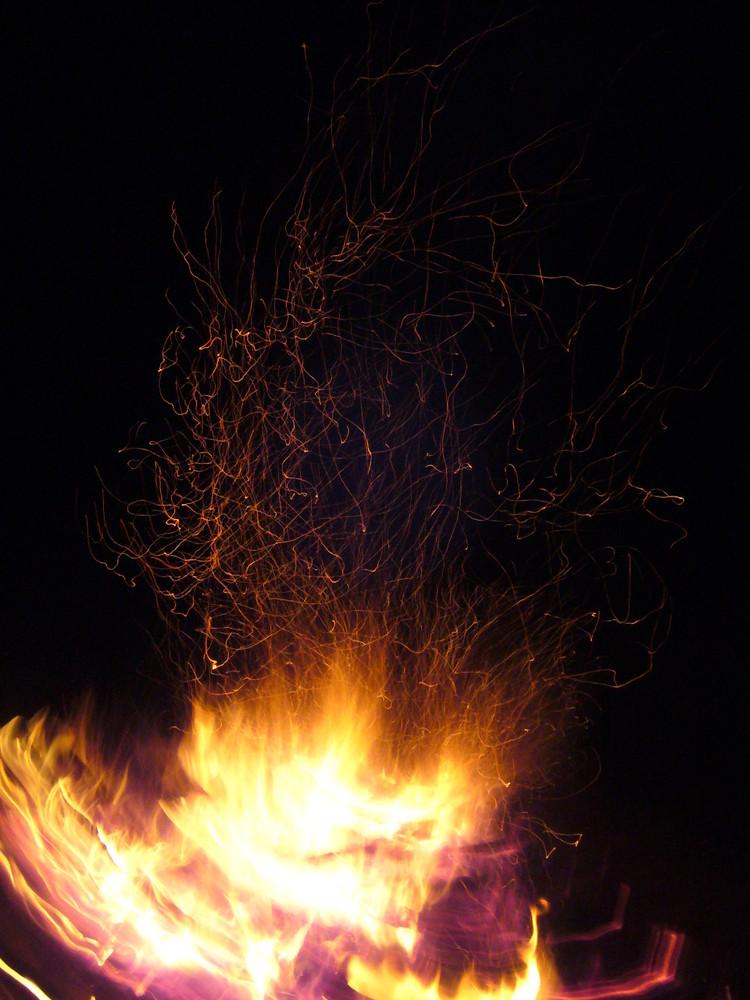 Feuer, Glut und Asche