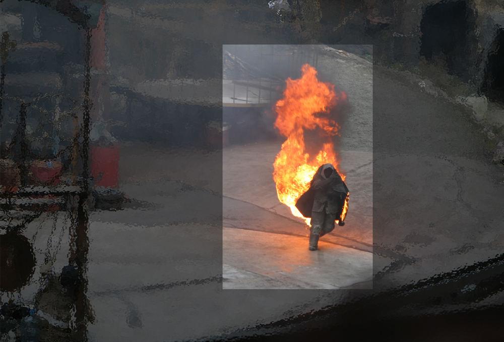 Feuer im Focus