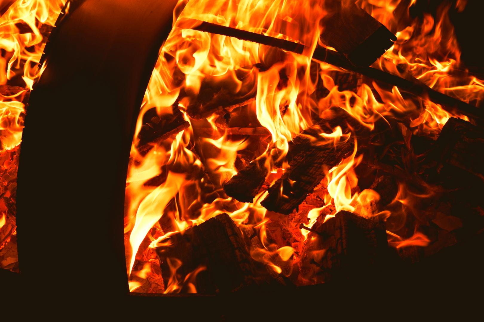 Feuer In Der Feuerschale Foto Bild Fotos Art Spezial Bilder