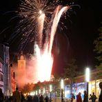 Feuer in Jena