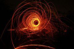 Feuer-Spirale
