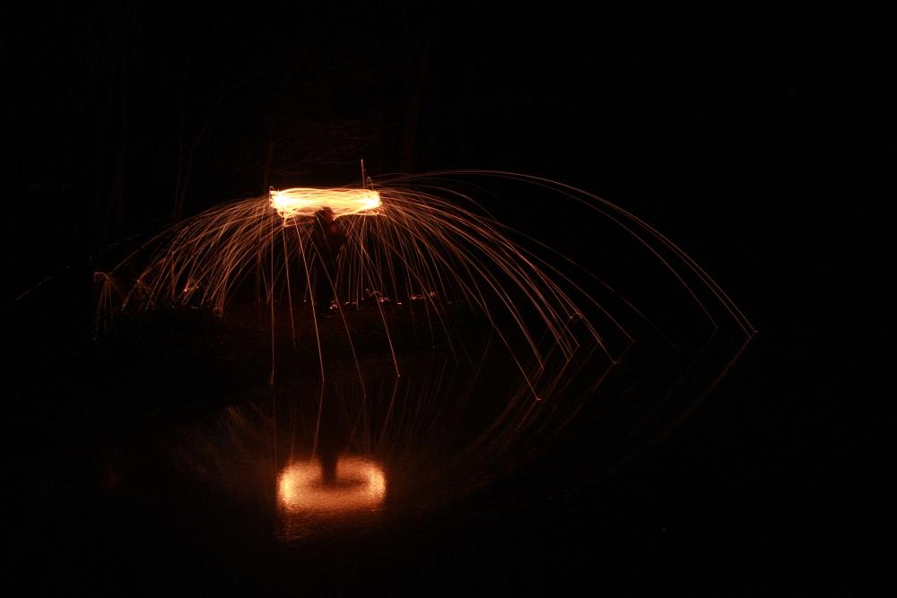 Feuer-UFO