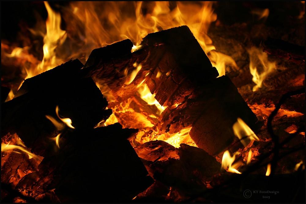 Feuer und Flamme.....