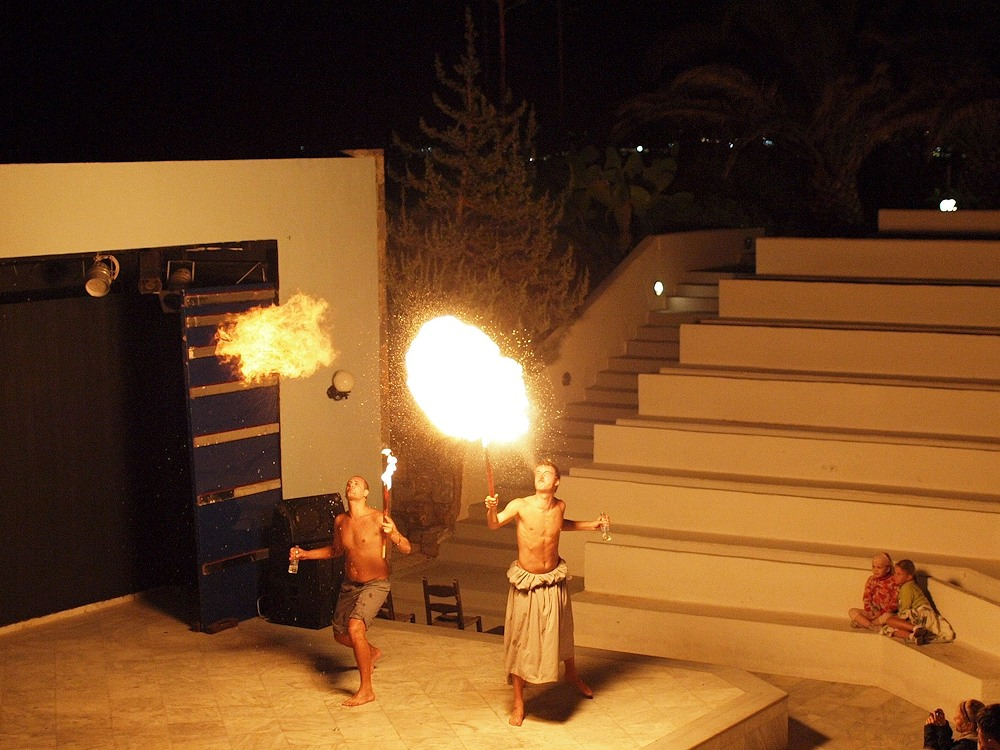 Feuer und Flamme für Kreta
