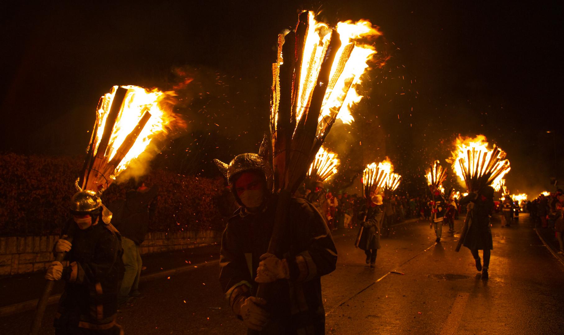 Feuerlauf in Liestal