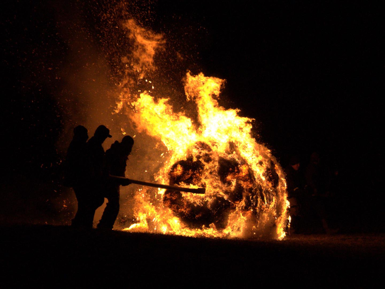 Feuerrad - Ein alter Brauch