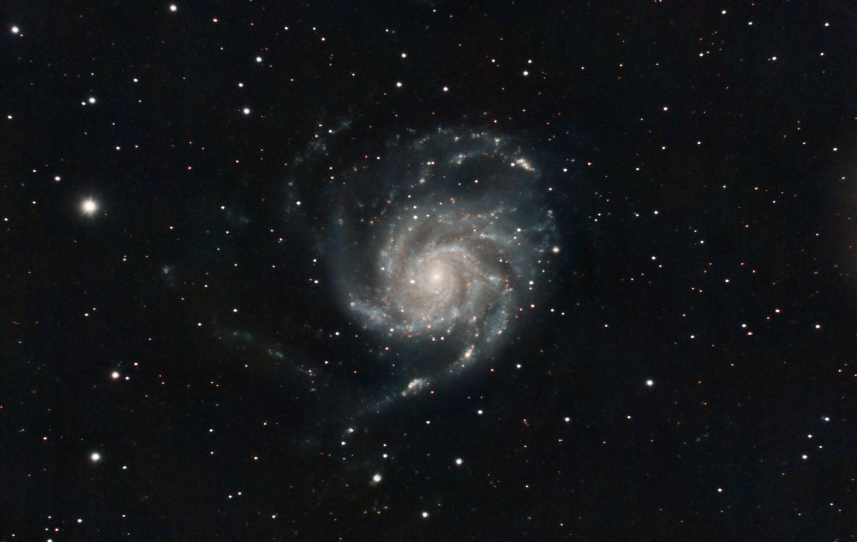 Feuerradgalaxie