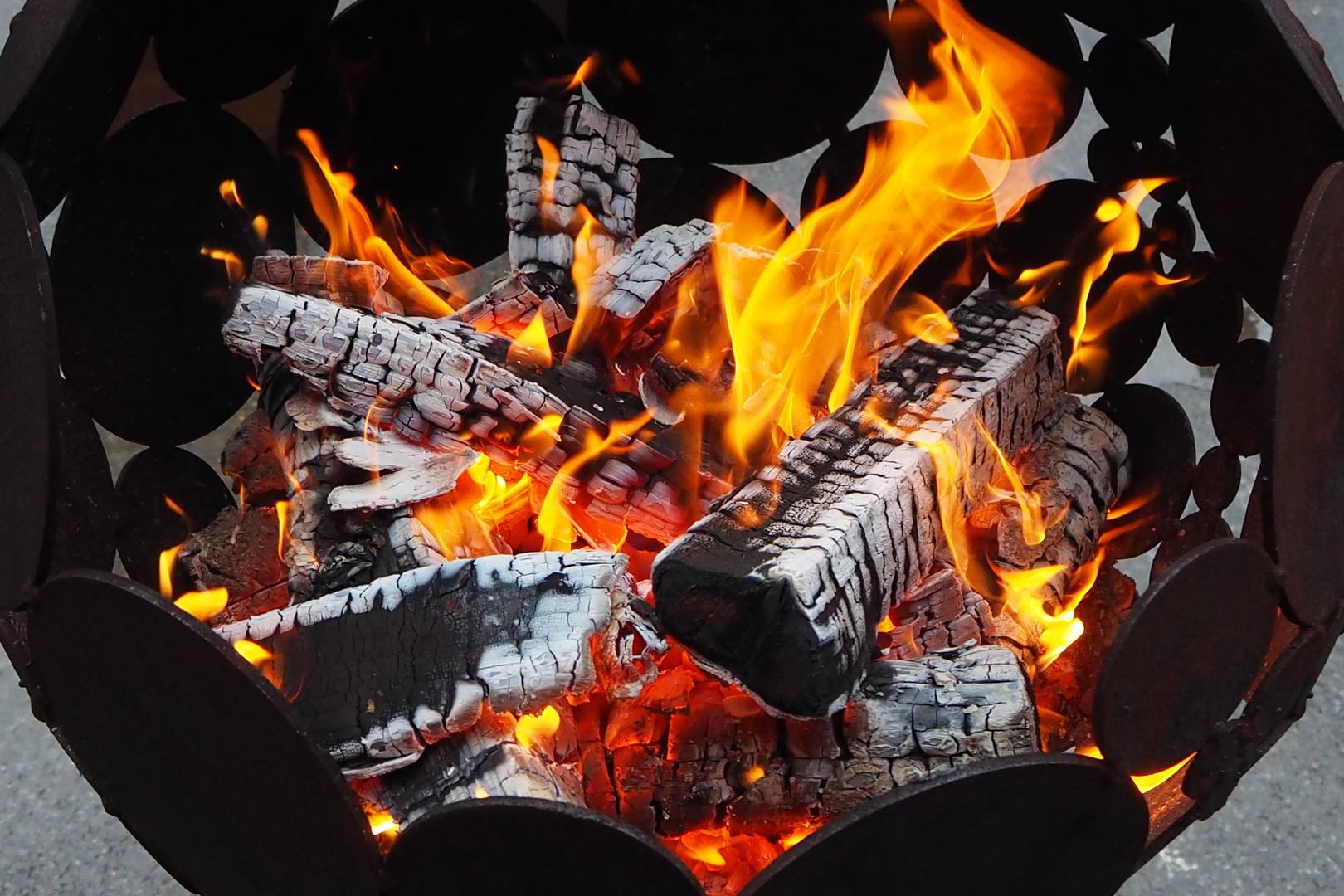 Feuerschale Foto Bild Stillleben Zufällige Arrangements Natur