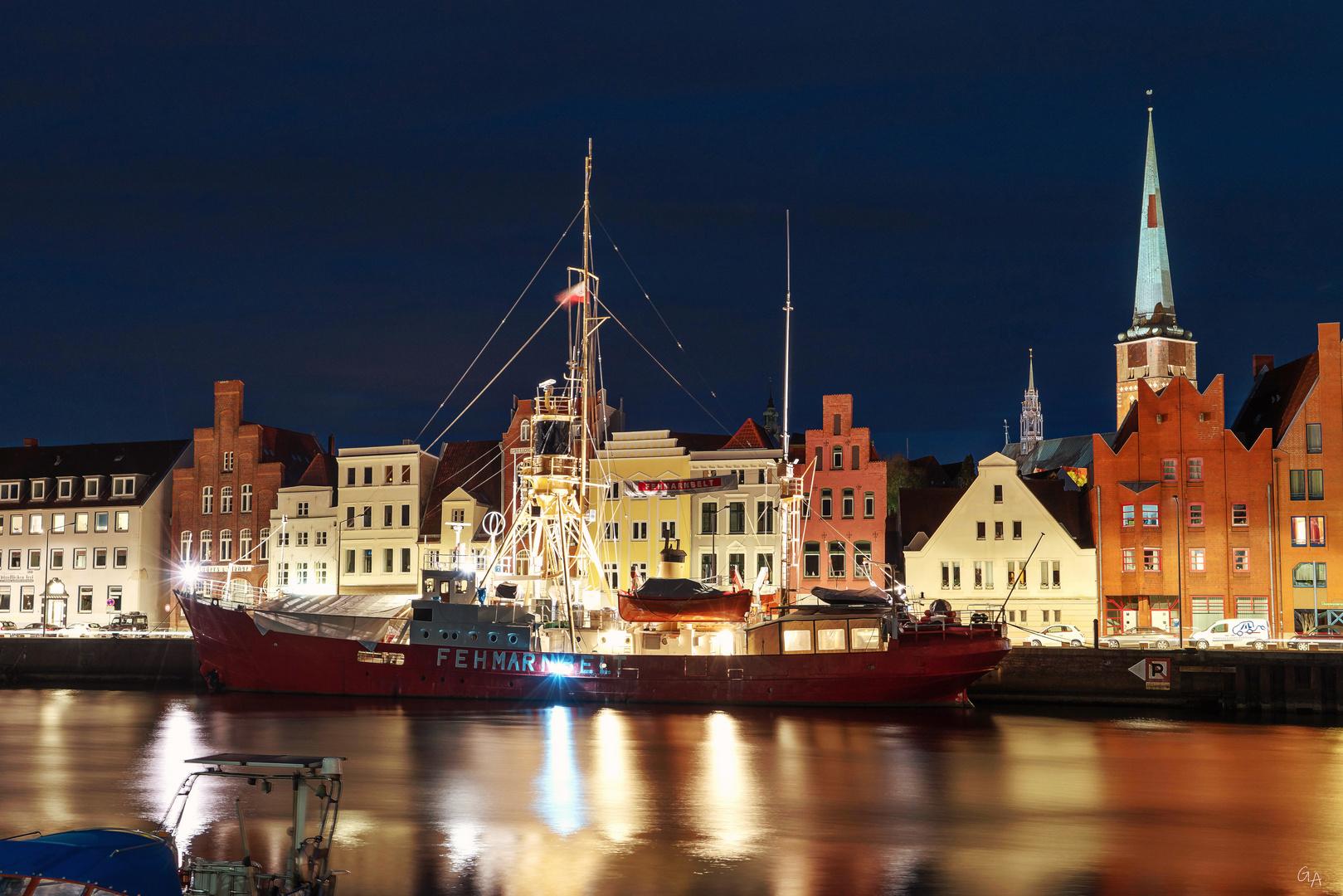 Feuerschiff Fehmarn Belt in Lübeck