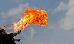 Feuerspucker...