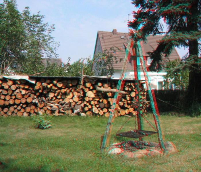 Feuerstellen Garten: Feuerstelle Im Garten Foto & Bild