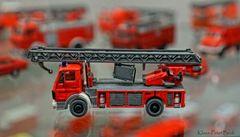 Feuerwehr  Drehleiterwagen