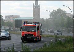 Feuerwehr in Fahrt