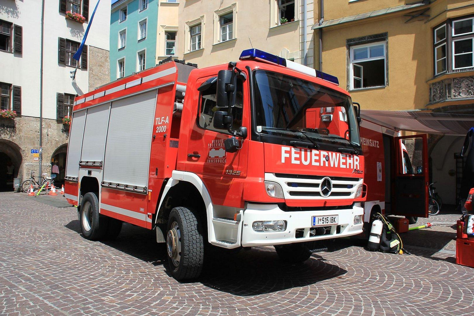 Feuerwehr Innsbruck