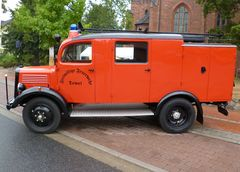 Feuerwehr ,Oldtimer, Mercedes,