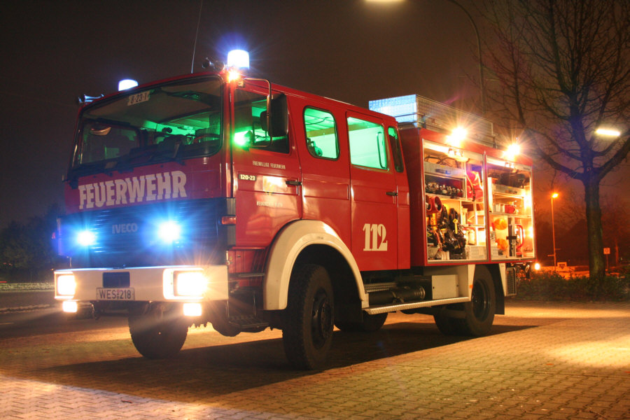 Feuerwehr - Tanklöschfahrzeug