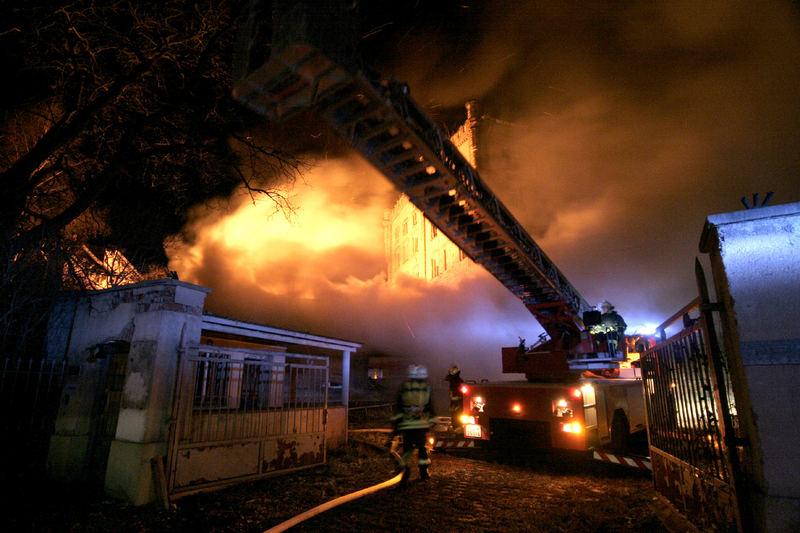 Feuerwehreinsatz an der Malzfabrik