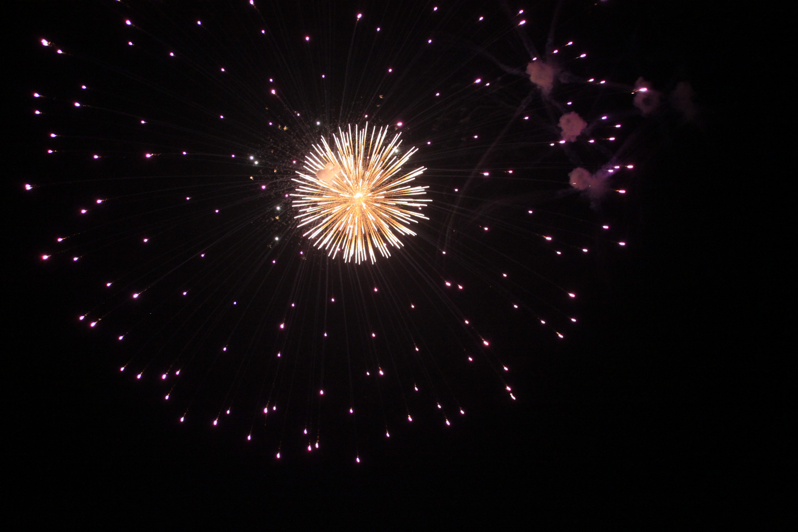 Feuerwerk 3 Oktober
