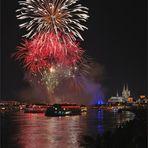 Feuerwerk Alaaf ...