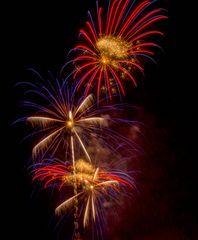 Feuerwerk am 01.01.2013 in Interlaken CH