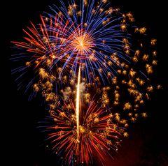 Feuerwerk am 1.1.2013 in Interlaken CH