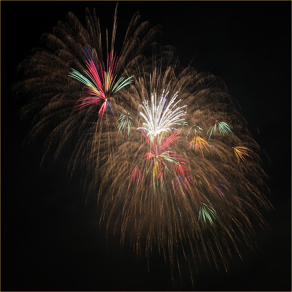Feuerwerk am Rheinfall 2010 - V