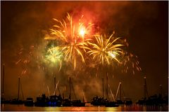 Feuerwerk am Seenachtsfest in Konstanz
