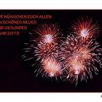 Feuerwerk am Silvester........