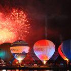 Feuerwerk & Ballon's eine gute Mischung ((: