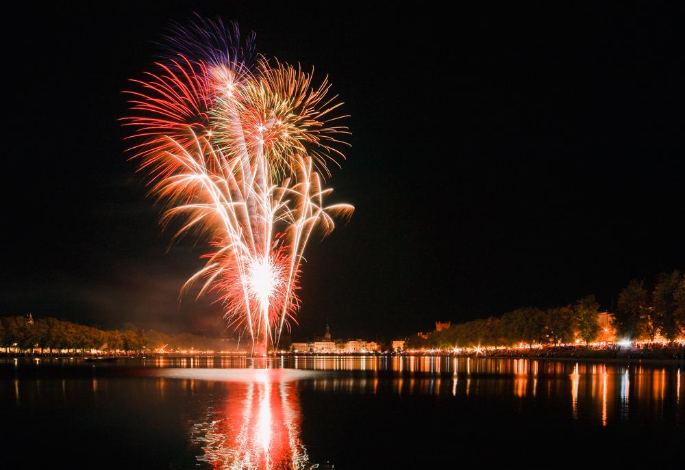 Feuerwerk beim Altstadtfest