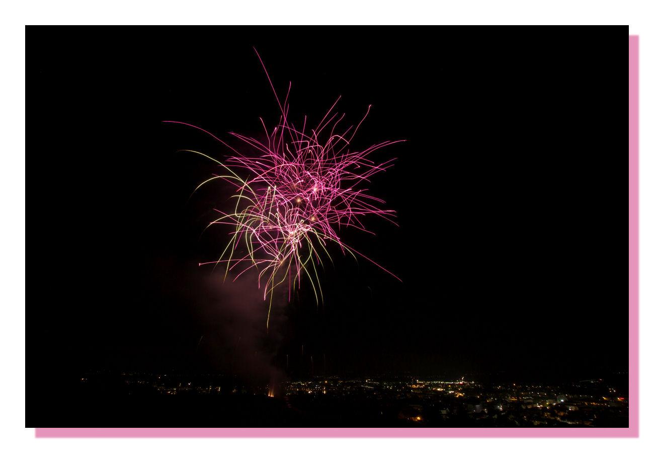 Feuerwerk beim Deutschen Weinlesefest in Neustadt an der Weinstrasse 1