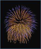 Feuerwerk beim Straubinger Volksfest Bild 1