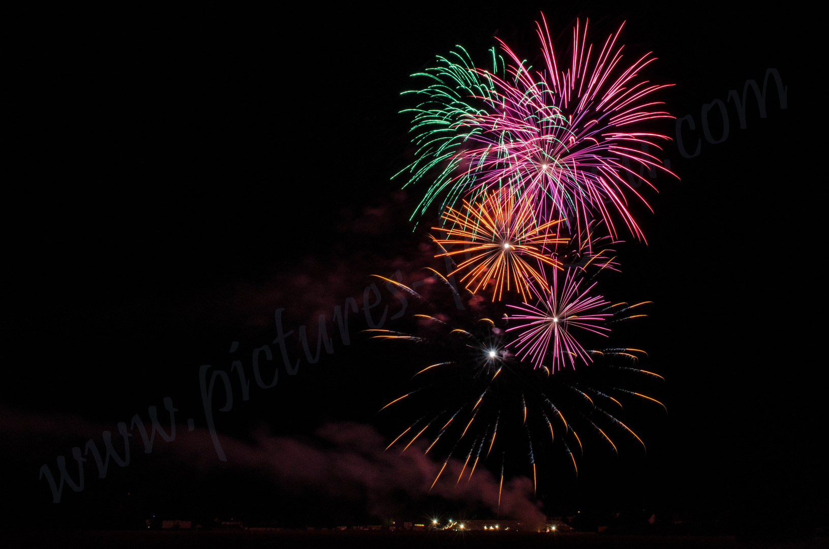 Feuerwerk Bruckmühl