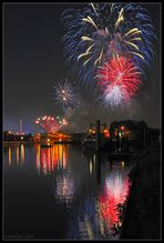 Feuerwerk Cranger Kirmes 2010