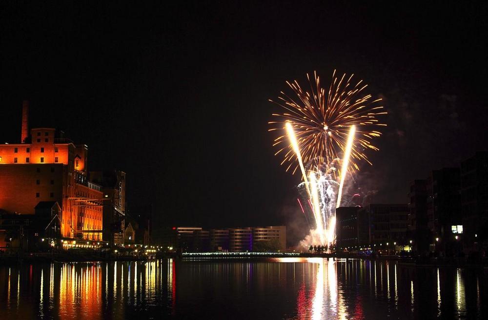 Feuerwerk Extraschicht 3