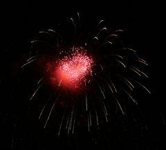 Feuerwerk für Verliebte