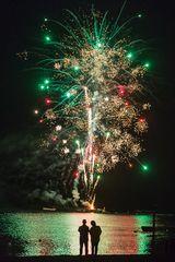 Feuerwerk für zwei