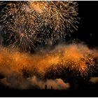 Feuerwerk - Goldstaub