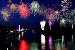 Feuerwerk Höchst