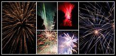 Feuerwerk im Hallohpark